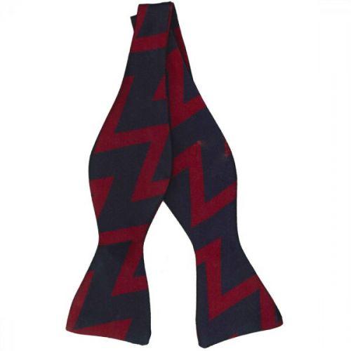RA Zig-Zag Bow Tie (Self Tie)