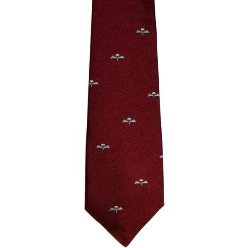 Parachute Regiment Silk Tie