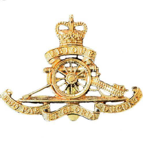 Royal Artillery Cap Badge, E11R