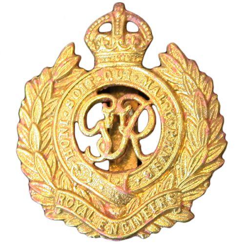 Royal Engineers Cap Badge, GV1R