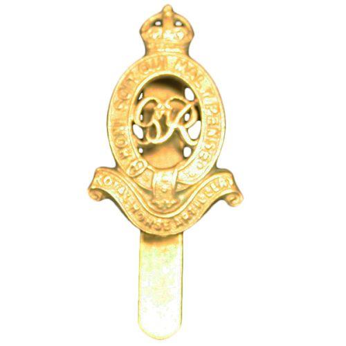 Royal Horse Artillery Cap Badge, GV1R, WM
