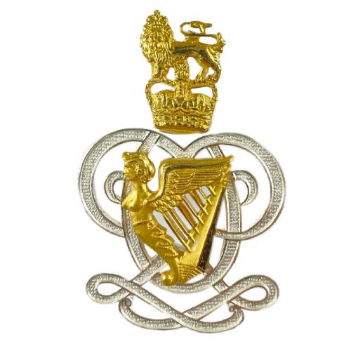 Queen's Royal Hussars Pouch Badge Officers