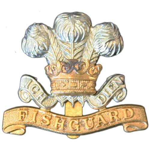 Pembroke Yeomanry Cap Badge, Fishguard
