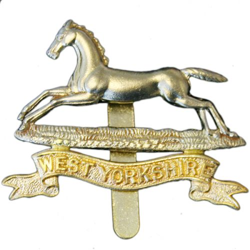 West Yorkshire Cap Badge