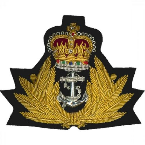 Royal Navy Cap Badge, Officers
