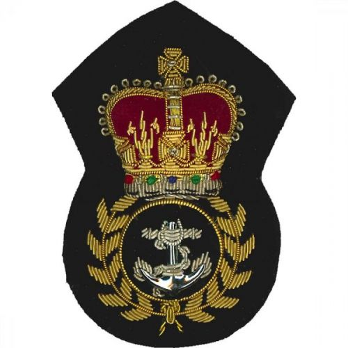 Royal Navy Cap Badge, Chief Petty Officers
