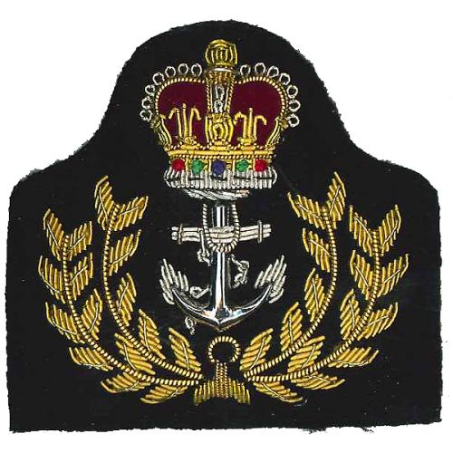 Royal Navy Cap Badge, Warrant Officers