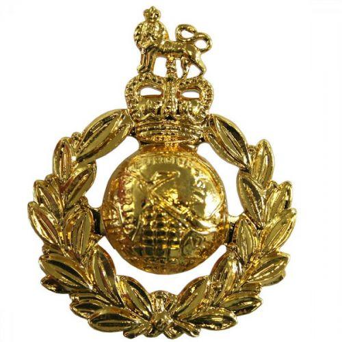Royal Marines Cap Badge, Gilt, E11R