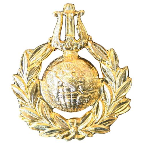 Royal Marines Cap Badge, Musicians
