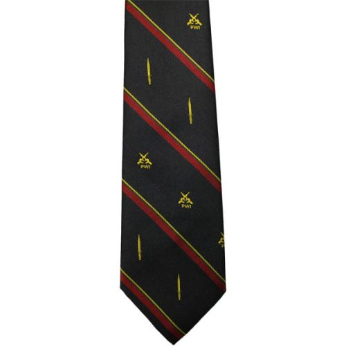 RM PWI Crested Tie