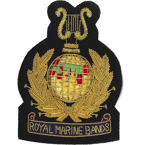 RM Bands Wire Blazer Badge