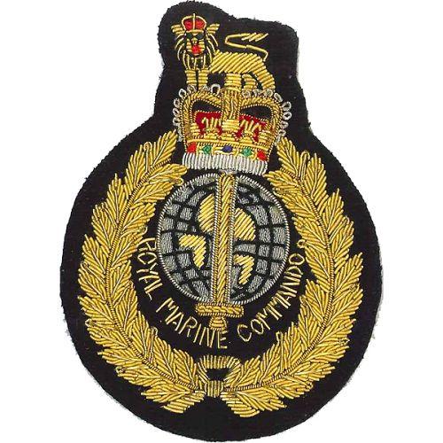 RM Commando Wire Blazer Badge