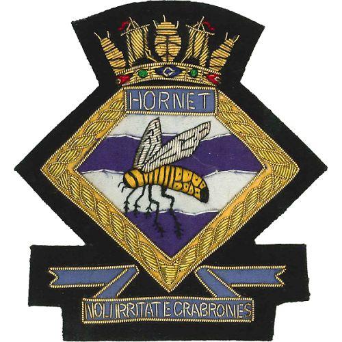 HMS Cornet Blazer Badge, Wire