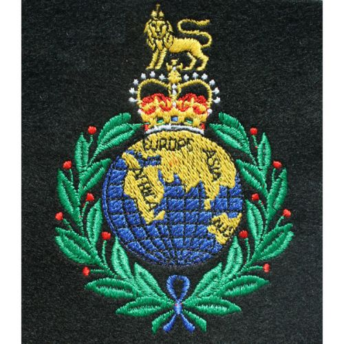 RM Silk Blazer Badge