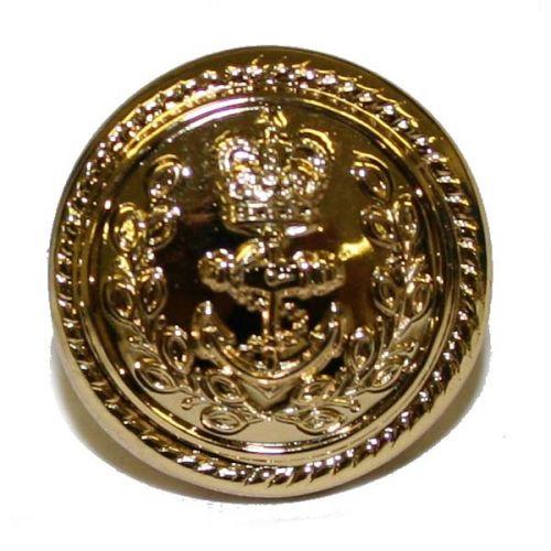 Royal Navy Button, Gilt, Flag Officers (26L)