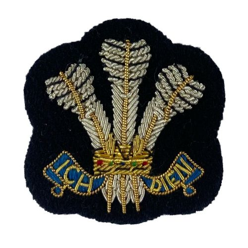 9th/ 12th Lancers OR's Arm Badge on Navy