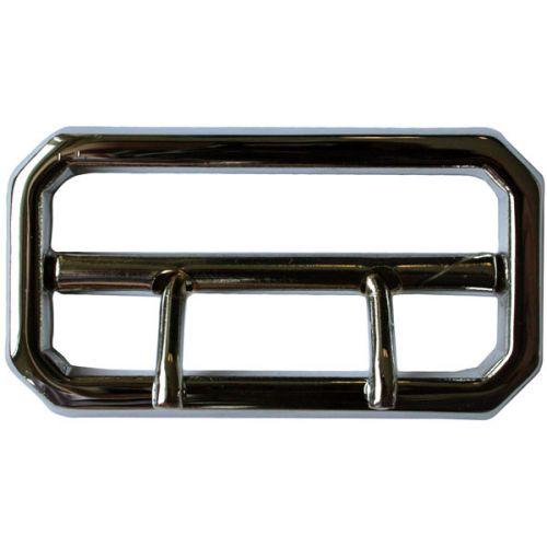 Belt Buckle Chrome 2 Prong