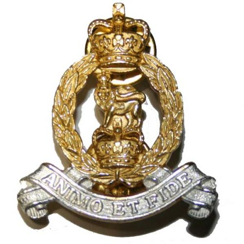 AGC Officer's Collar Badges