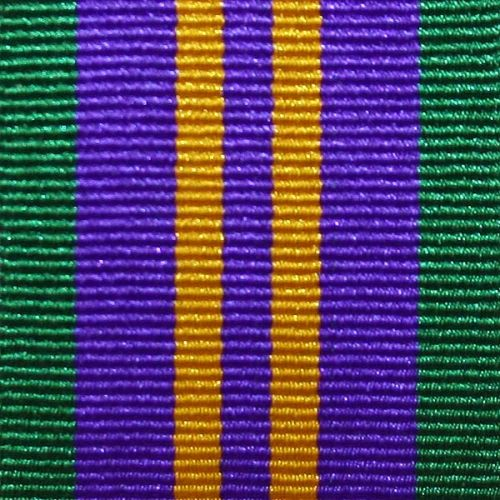 Accumulated Campaign Service, 2011, Medal Ribbon