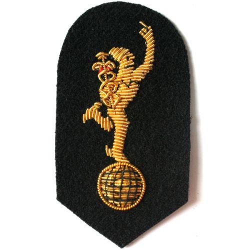 Royal Signals Mercury No.1 On Navy Badge