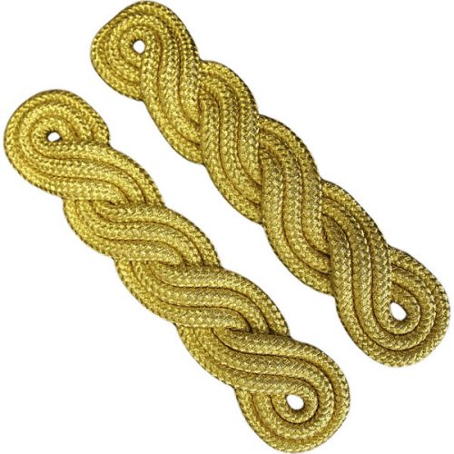 Male Cords 3 Ply Gold On Navy