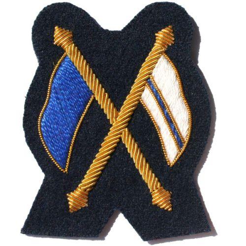 Signaller Gold On Navy No.1 Dress Badge