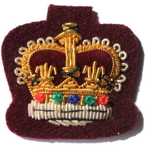 C/Sgt Gold On PARA Maroon Badge