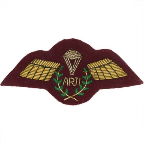 APJI Gold On PARA Maroon Badge