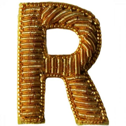 Large Gold R