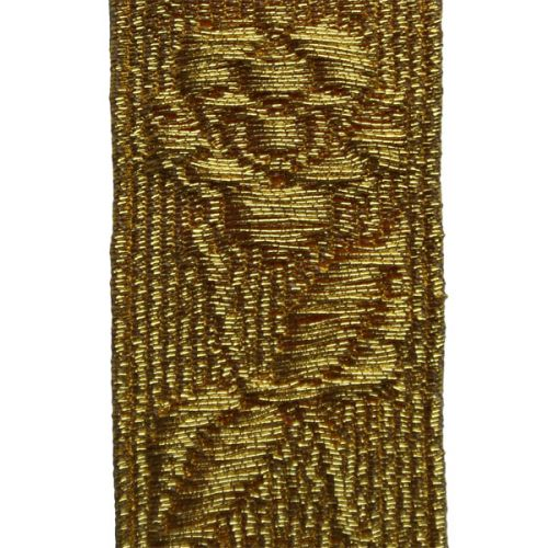 Gold Infantry Rose Mylar Lace