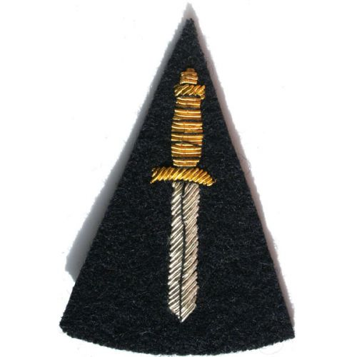 RM CDO Dagger On Navy No.1 Badge