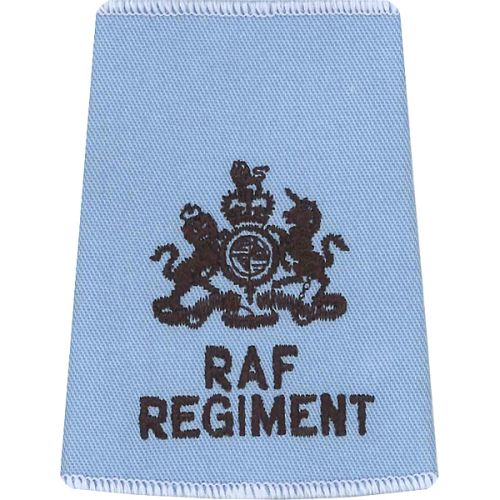 RAF Regiment Rank Slides, Wedgewood, (WO)