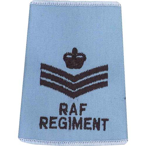 RAF Regiment Rank Slides, Wedgewood, (F/Sgt)