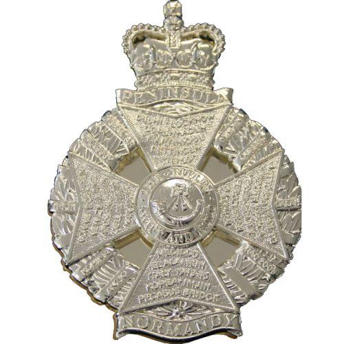 The Rifles WO's Cross Belt Badge