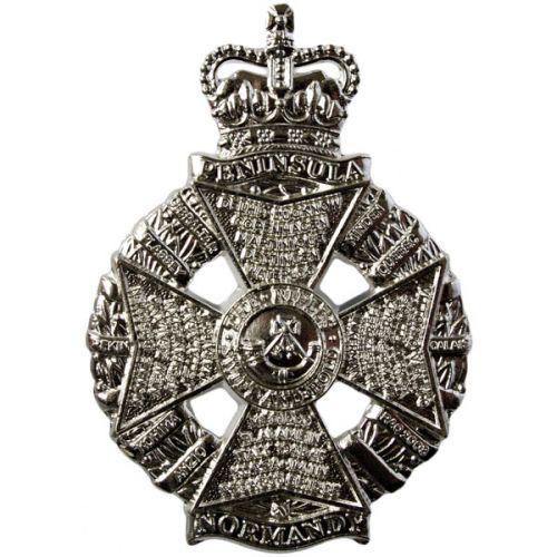 The Rifles Sgt's Cross Belt Badge
