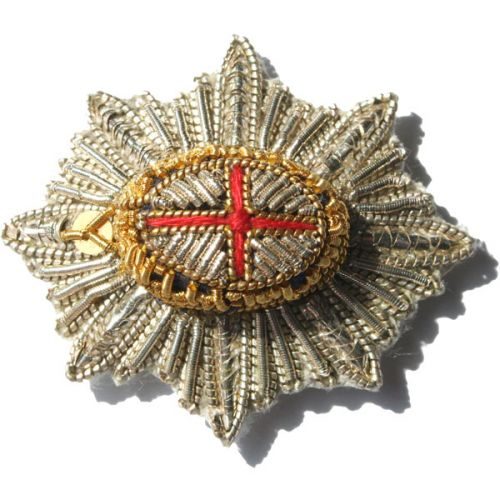 Coldstream Guards Officers Badge