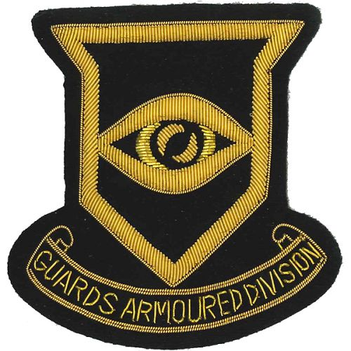 Guards Armoured Division Blazer Badge, Wire