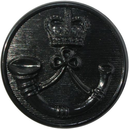 Royal Green Jackets Button, Black (37L)