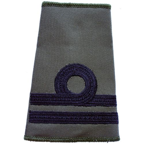 RN Rank Slides, Olive Green, (Lt)