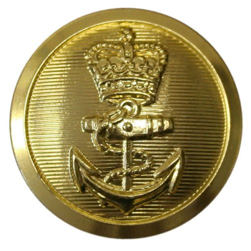Royal Navy Button, Chief Petty Officer, 4 Hole (37L)