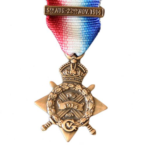 1914 Star & Mons Bar, Medal (Miniature)