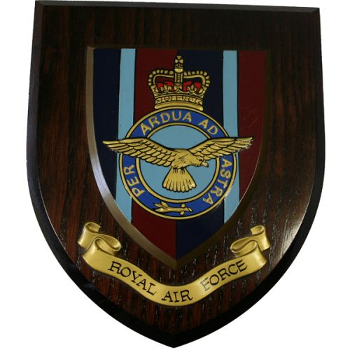 RAF Wall Plaque