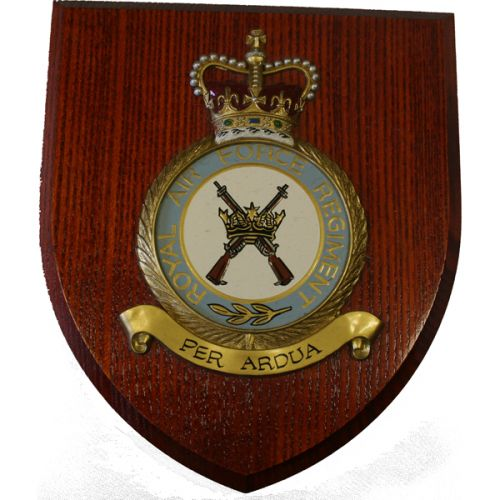RAF Regiment Wall Plaque