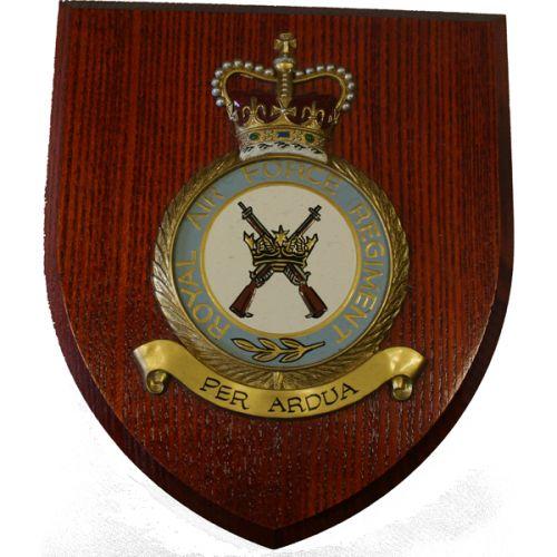 RAF Regiment Wall Plaque