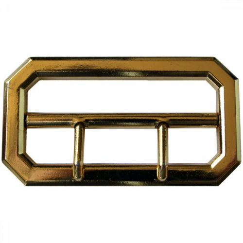 Gold Anodised 2 Prong Buckle