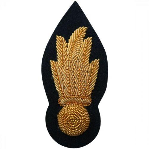 RA Officers No.1 Dress Dress Collar Badge