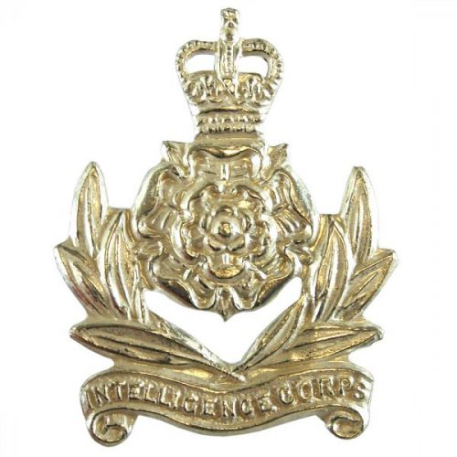 Int Corps Officer's Collar Badge