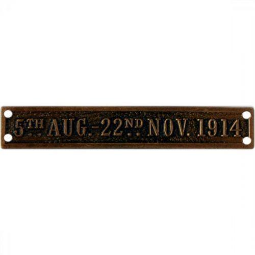 5th Aug 22nd Nov 1914, Clasp