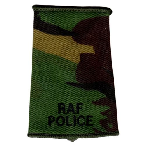 RAF Rank Slides, CS95, (Unranked), Police