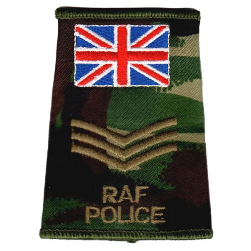 RAF Rank Slides, CS95, (Sgt), Police UK
